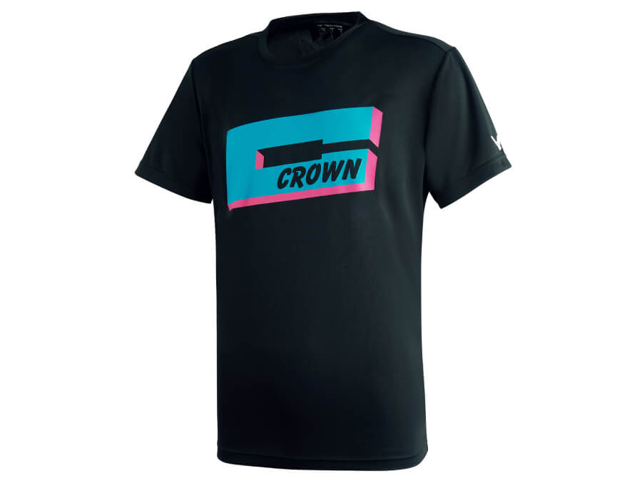 Crown Collection 棉T-shirt 中性款 T-2012 C
