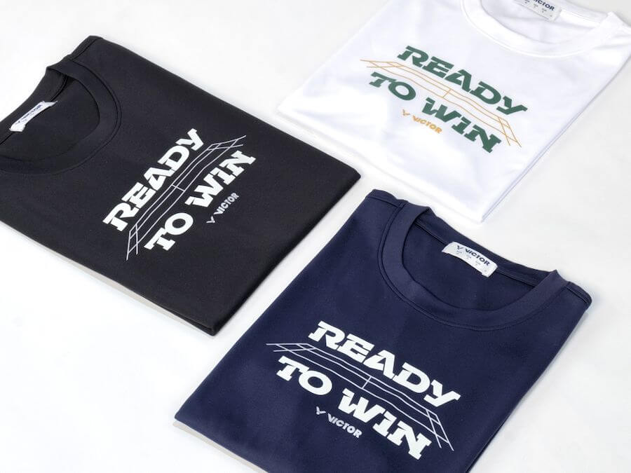 READY TO WIN T-Shirt 中性 T-3916 B